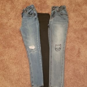 LOT OF 3 GIRLS SKINNYJEANS IN EXCELLENT CONDITION